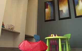 Pediatric Sitting Room